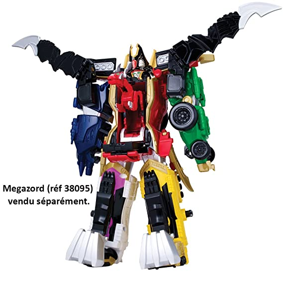 Power Rangers Súper Megaforce - Zord Mystic Force, playset (Bandai 38081): Amazon.es: Juguetes y juegos