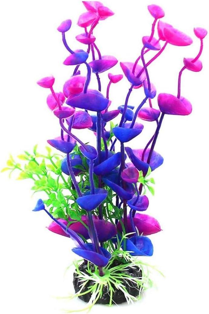 iHOMIKI 1PC Artificiale Decor Acquario Sea Flower pianta Fish Tank Decorazione Ornament Decor Acquario paesaggistica