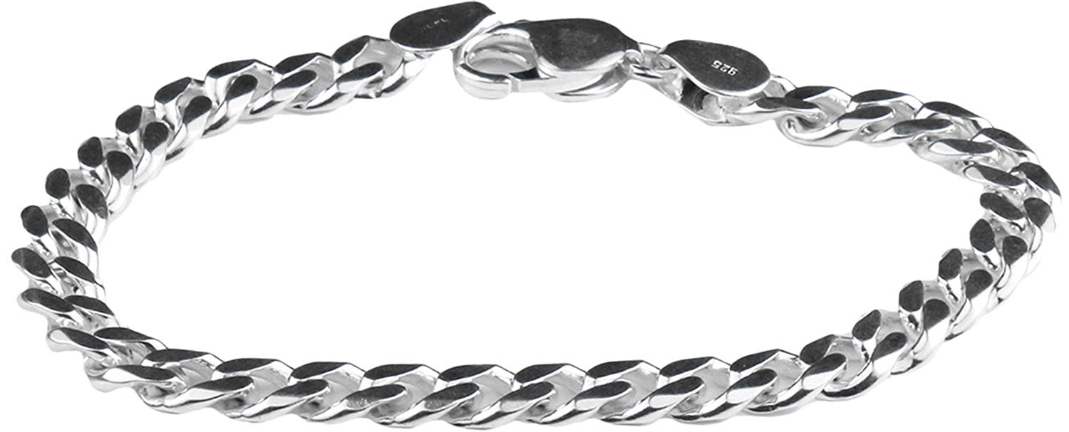 1b3381ffd2d63d Buy Arisidh Unique Design Formal Attire 925 Original Pure Sterling Silver  Bracelet 8.5 inches for Men and Boys. Online at Low Prices in India |  Amazon ...