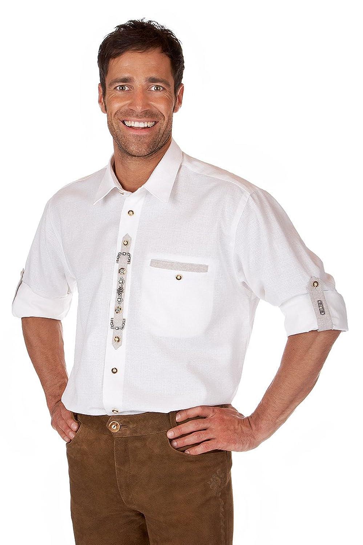 Orbis Textil H063 - Trachten Hemd mit Krempelarm