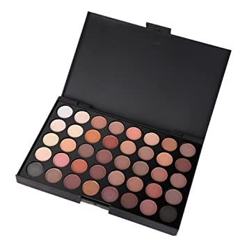 40 Color Matte Eyeshadow Pallete Make Up Earth Palette Eyeshadow Makeup  Glitter Easy To Wear Makeup 88c1e2b94d