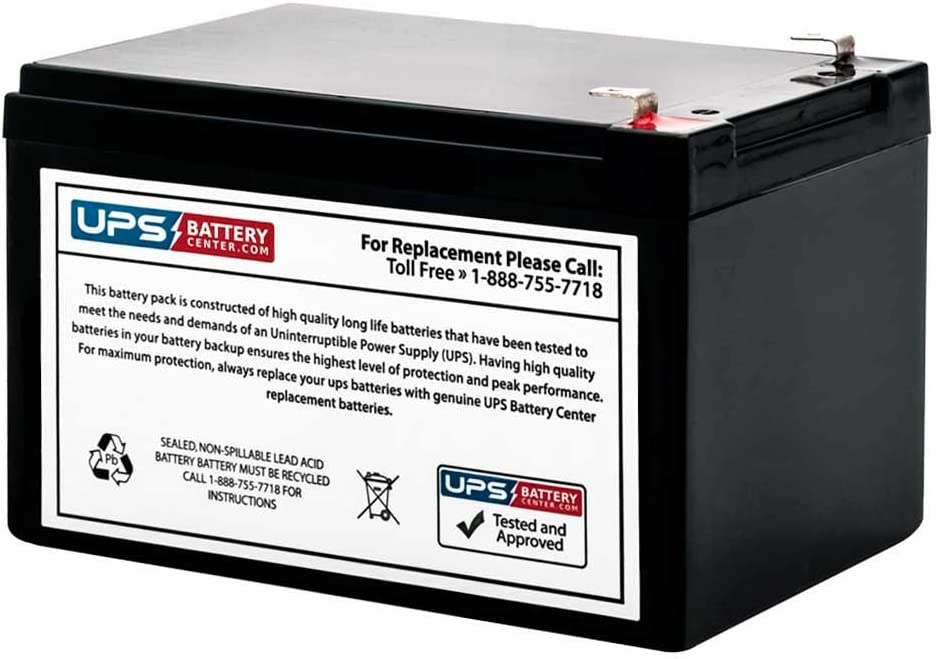 BP6501PNP BP650S Battery Compatible Replacement for APC BackUPS Pro 650VA by UPSBatteryCenter BP650C