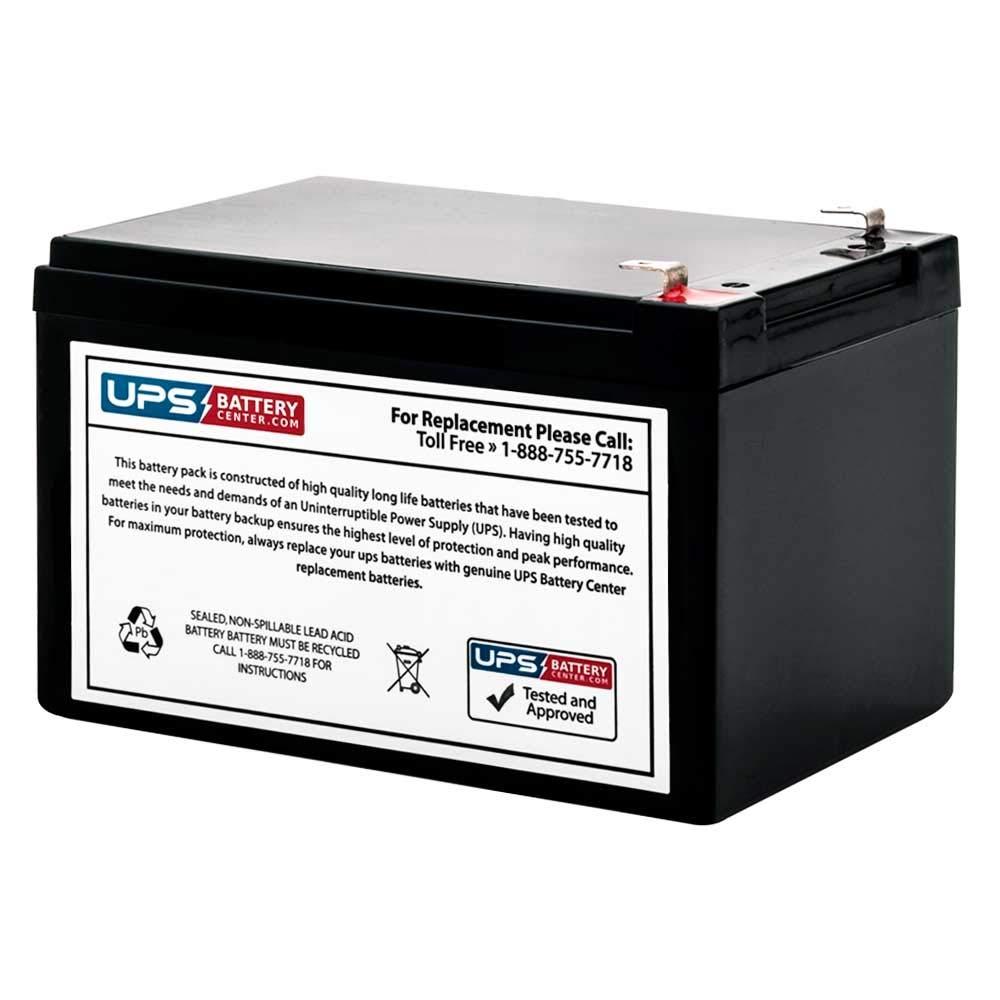 RBC4 Compatible Replacement Battery Cartridge # 4 for APC Smart-UPS 620VA SU620NET by UPSBatteryCenter® UPS Battery Center SU620NET-04