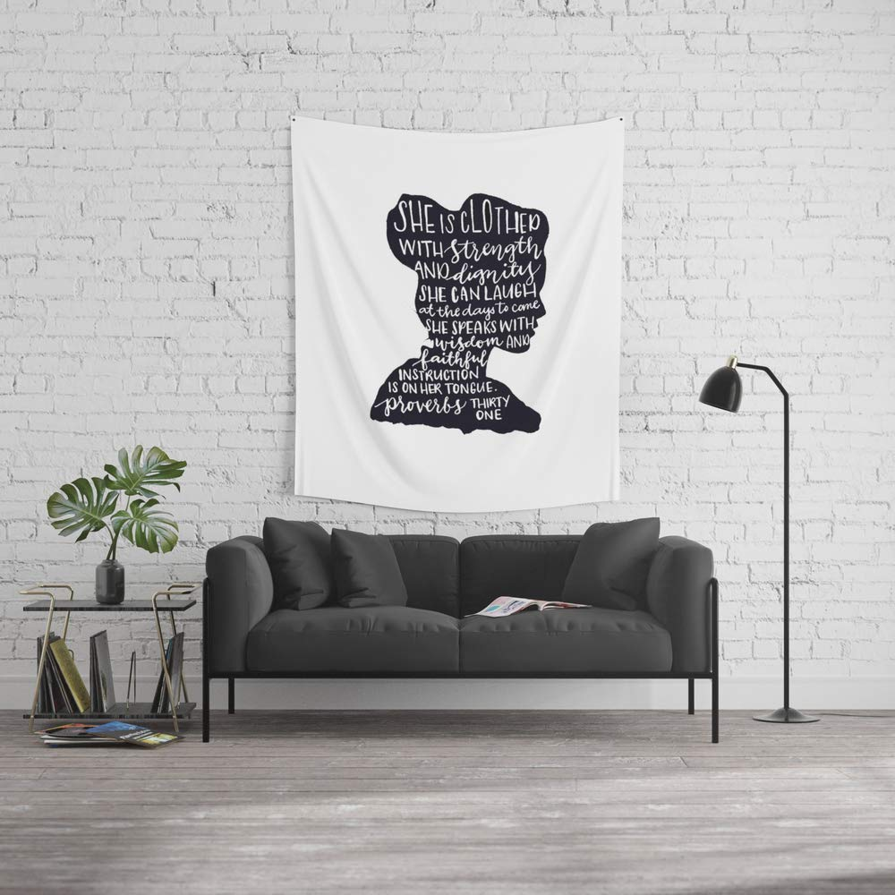 Society6 Wall Tapestry, Size Medium: 68'' x 80'', SHE is by crisunplugged by Society6