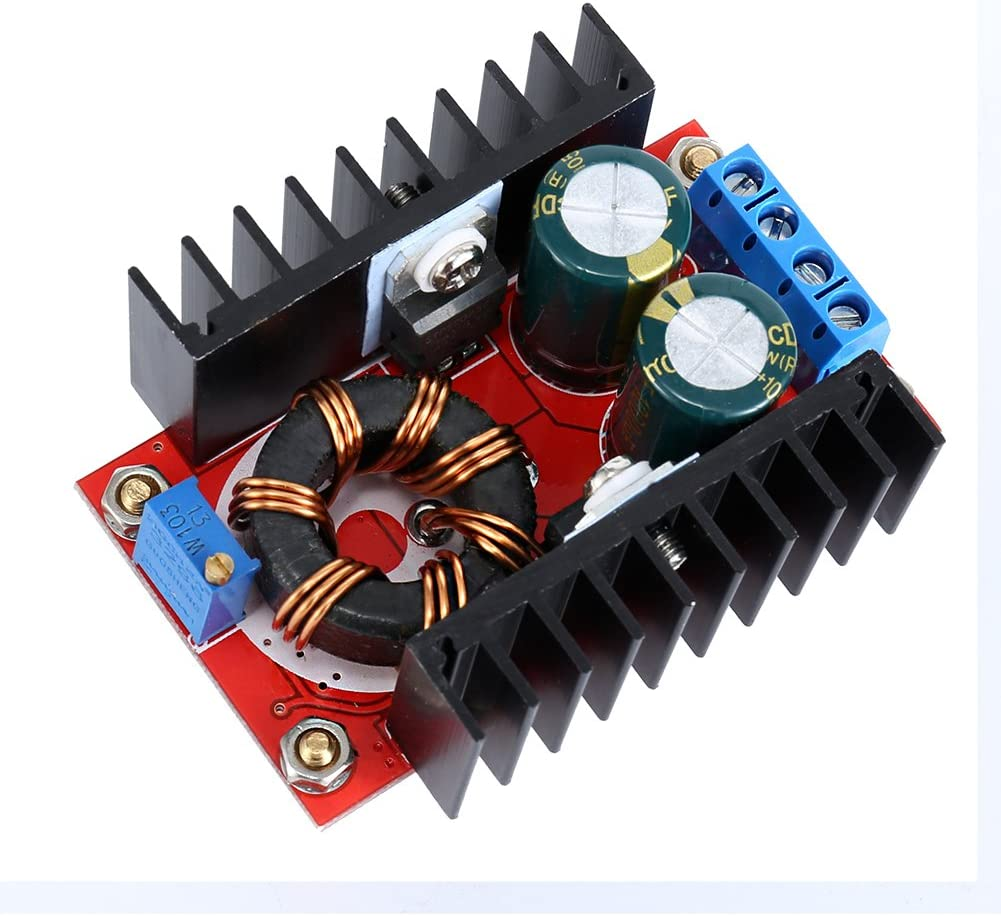 150w Spannung zu 10-32v 12-35v Boost Converter Dc-Dc Step-Up Adjustable Power TT