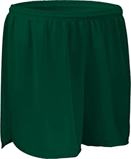 """product image for PT403W 4"""" Performance Athletic Solid Sport Running Short with Inner Brief (XXX-Large, Forest Green)"""