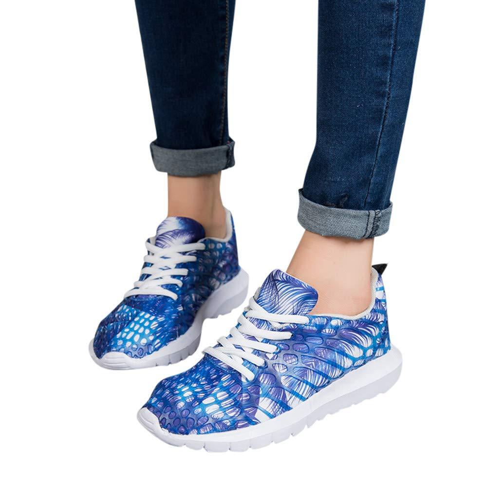 Zapatillas de Running para Mujer,JiaMeng Zapatos de Malla Transpirable Zapatos Deportivos para Pareja Zapatillas de Deporte para Correr al Aire Libre: ...