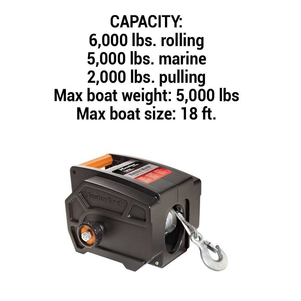 Master Lock Electric Winch Portable 12 Volt Dc Ac 120 Wiring Diagram 2953at Automotive