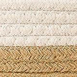 Goodpick 2pack Cotton Rope Basket - Woven Storage