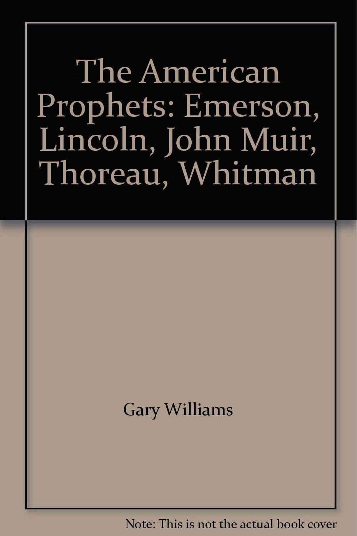 emerson thoreau whitman