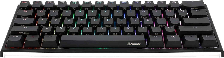 Ducky One 2 - Mini RGB Cherry MX Switch PBT Keycap 60% RGB Teclado mecánico para Juegos
