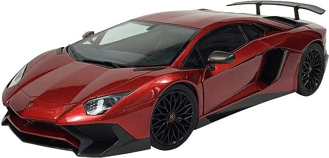 Lamborghini Aventador LP750-4 SV 1:24 Model Kit Bausatz Aoshima 051207