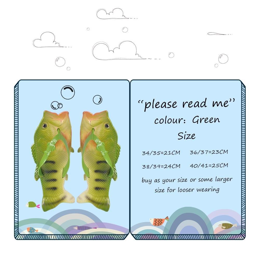 Creative Pantofole Pesce Bambini Ciabatte Mare Bimba Diapositive Infradito Spiaggia Sandali Da Spiaggia Per Pesci In Estate Infradito e Ciabatte Da Spiaggia(34/35) 5ilQN6XCHv