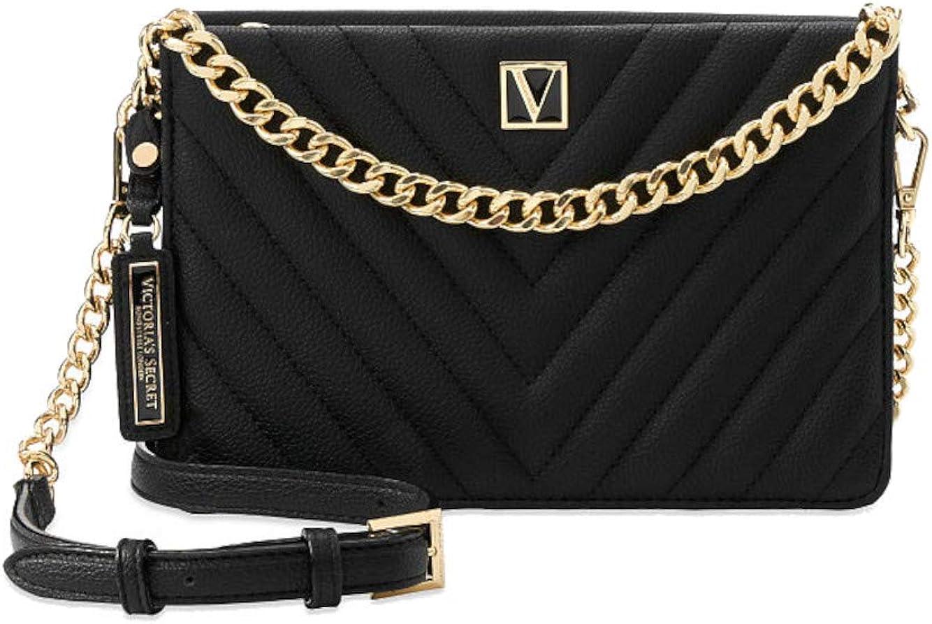 La bandolera con cadena Victoria negro Victoria`s Secret