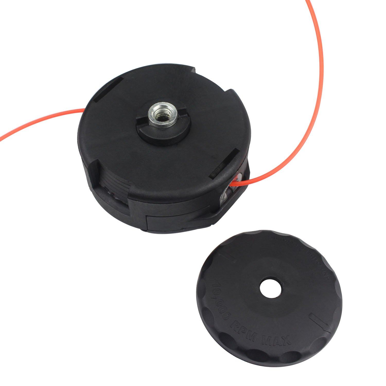 WeiMeet Trimmer Head for Echo Speed Feed 400 375 Bump Feed SRM225 SRM230 SRM210 SRM220 SRM2110 SRM2300 SRM2200 SRM250 SRM260 SRM211 PAS210 PAS230 PAS260 Mower