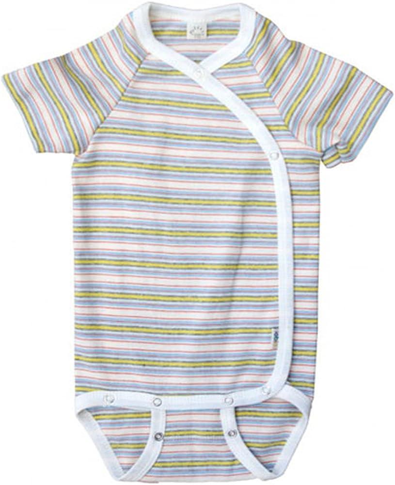 Cosilana Baby Body kurzarm Wolle Seide Baumwolle Unterhemd Bio Öko