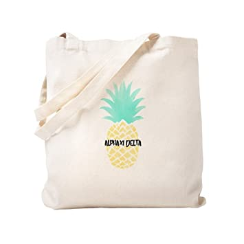 3725b49c09d Amazon.com  CafePress - Alpha Chi Delta Sorority Pineapple - Natural ...