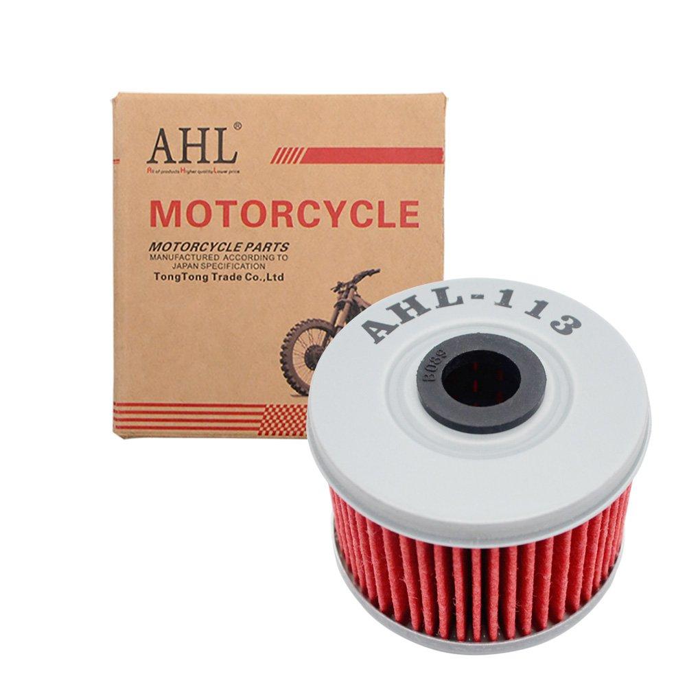AHL 113 Oil Filter for Honda TRX500FM Fourtrax Foreman 4X4 475 2005-2009 2011-2013