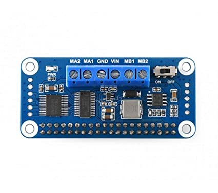 Amazon Com Coolwind I2c Interface Motor Driver Hat Compatible With