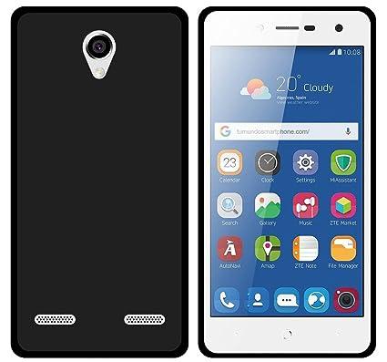 Tumundosmartphone Funda Gel TPU para ZTE Blade L7 Color Negra