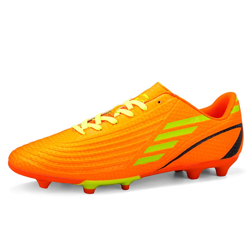 Little Kid//Big Kid//Men//Women Gungun Athletic Cleats Lace up Soccer Shoes Outdoor
