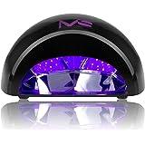 MelodySusie 12W LED Nail Dryer - Nail Lamp Curing LED Gel Nail Polish, Professional for Nail Art at Home and Salon