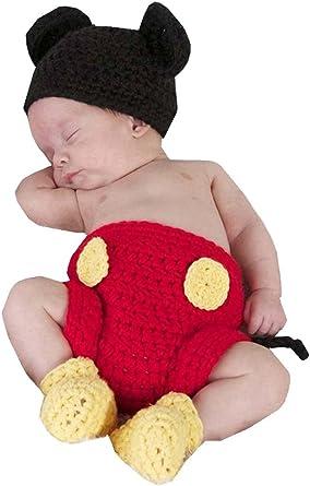 Samgu recién nacidos fotografía Prop bebé Disfraz Niedlich Crochet ...