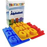 "Silicone Alphabet Trays Mold by Traytastic! - Large 1.5"" Tall Letters"