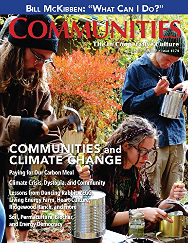 174 Tom - Communities Magazine #174 (Spring 2017) - Communities and Climate Change