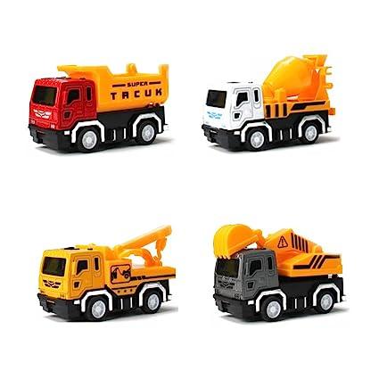 Amazon com: NQO:4pcs alloy car model toys / mini excavators