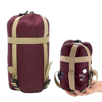Feikai Sac de couchage Envelope Sleeping Bag Portable super léger Ultra-économie de l'espace pour voyage / randonnée / trekking / camping Équipement Plage extérieure