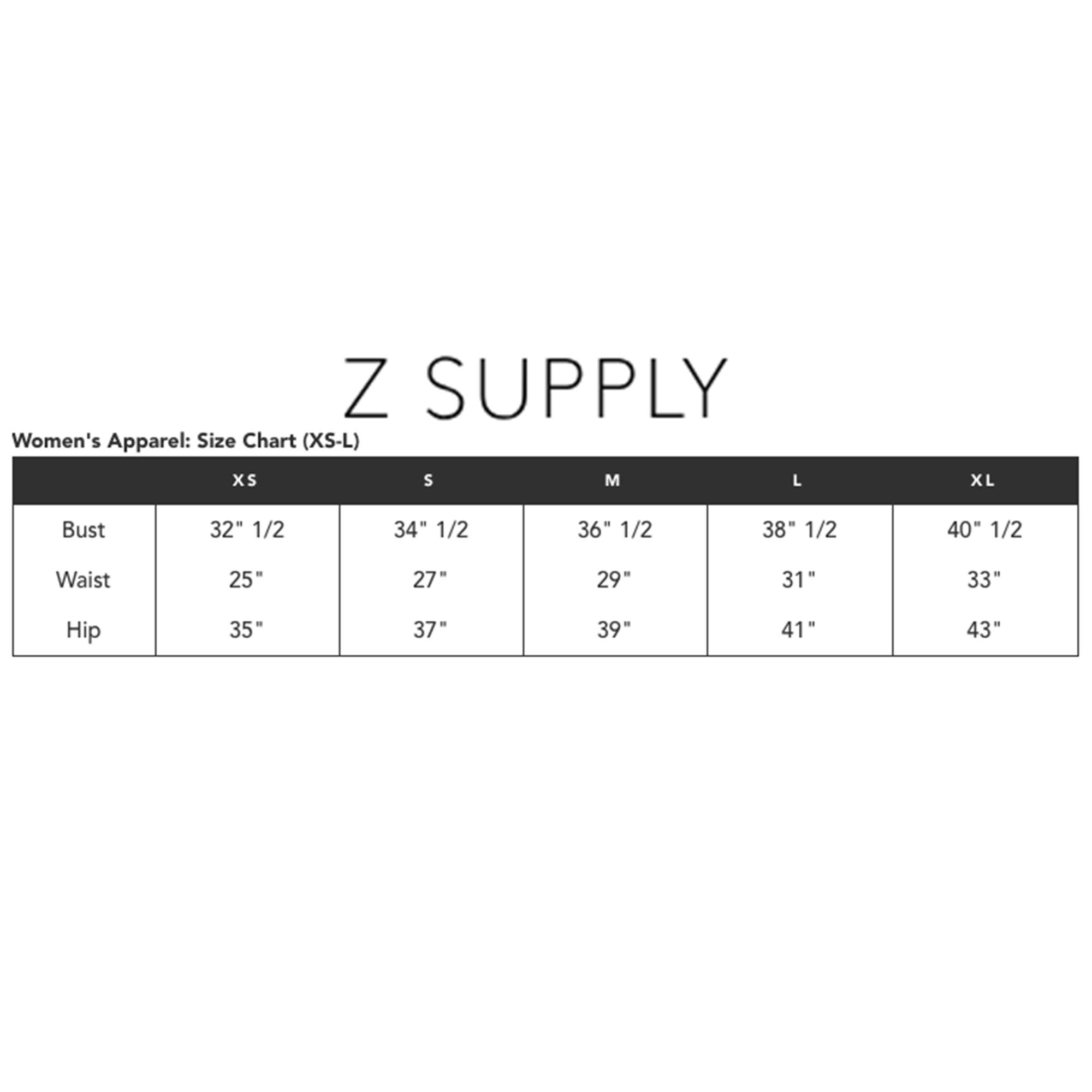 Z SUPPLY Women's The Boyfriend Short Burnout Fabric Relaxed Fit, Black, Small by Z SUPPLY (Image #3)