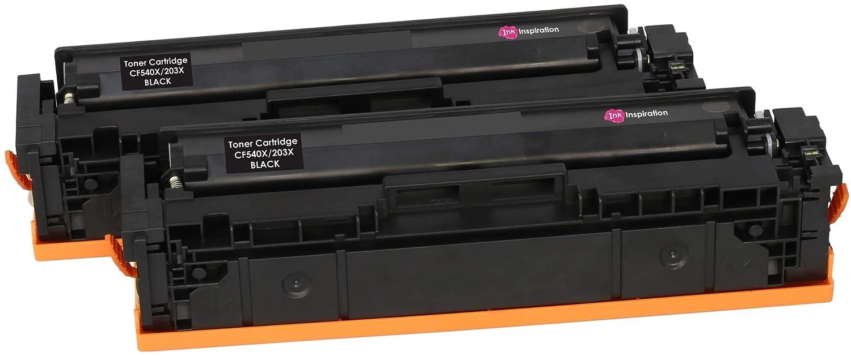 2 INK INSPIRATION® Tóners compatibles con HP 203X CF540X Color ...