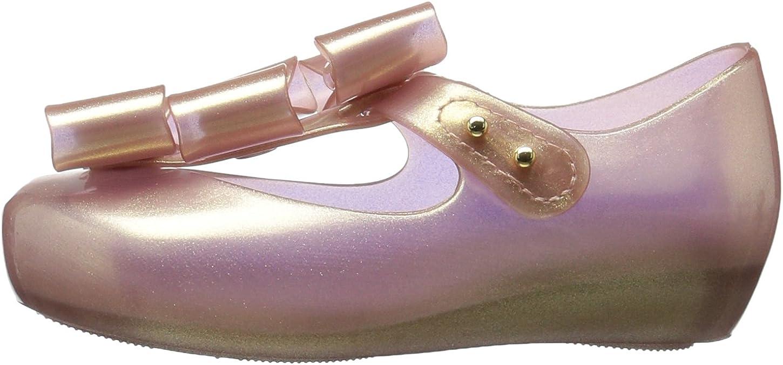 mini melissa Kids Mini Triple Bow Ballet Flat