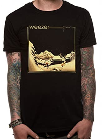 cd8a91bf Official Weezer - Pinkerton - Cotton T Shirt: Amazon.co.uk: Clothing