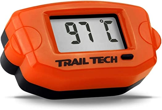 Trail Tech Temperature Meter 10mm Black 742-EF6