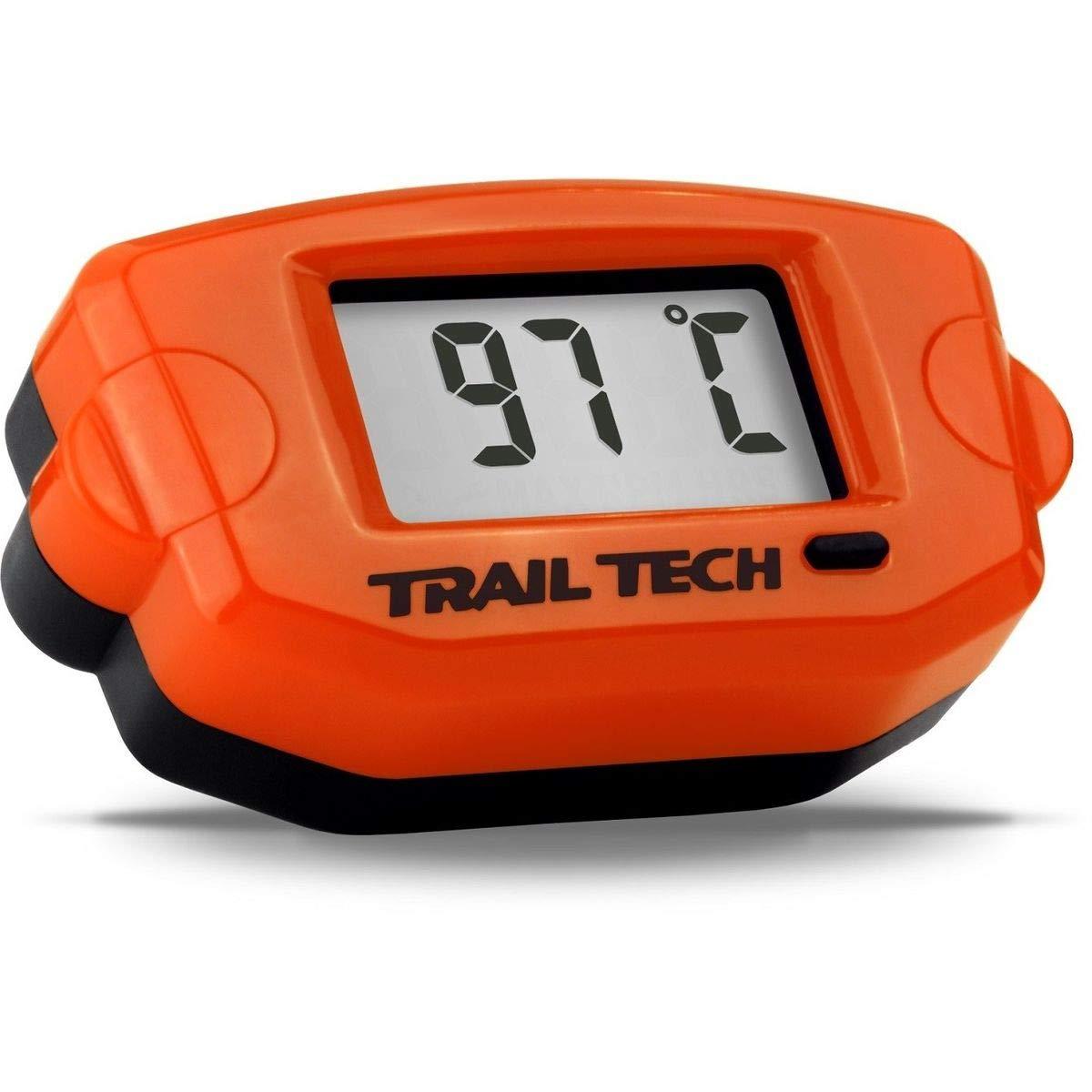 Trail Tech 743-ET3 Orange TTO Surface Digital Temperature Gauge 14mm Spark Plug Sensor by Trail Tech