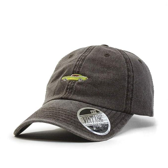 e99bd5355 Vintage Washed Cotton Adjustable Dad Hat Baseball Cap
