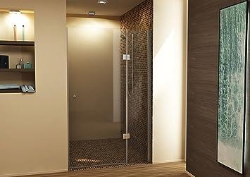 dusche duschtr duschabtrennung nische nischentr rahmenlos 8085 9095100105110 h - Dusche Nischentur 85 Cm