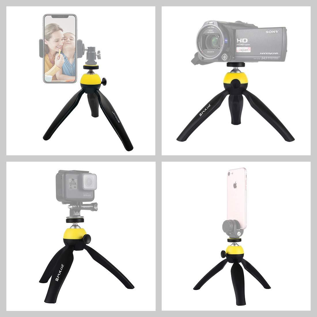 Powerfulline Handheld Extended Dual-Handle Grips Handbar Stabilizer Gimbal for DJI Ronin-S