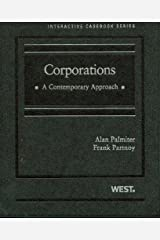 Palmiter and Partnoy's Corporations: A Contemporary Approach (Interactive Casebook Series) Hardcover
