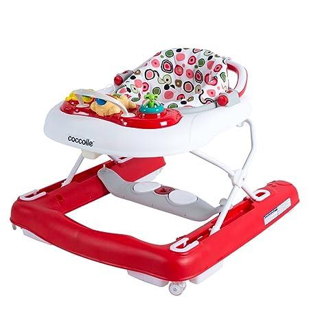 Andador multifuncional C113 Primo Passo rojo: Amazon.es: Bebé