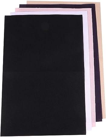 EXCEART - 5 piezas de tela Aida para punto de cruz, tela de algodón con cuentos para manualidades, bordado, costura, uso doméstico: Amazon.es: Hogar