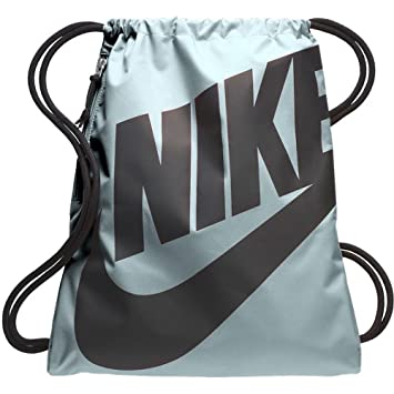 5e6ee213a4 Nike Heritage Sac de Sport Mixte Adulte, Bleu Glacier Noir: Amazon ...