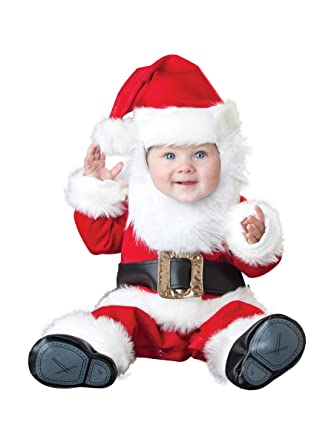 c1fc8cbe6 Amazon.com: InCharacter Costumes Baby's Santa Baby Costume: Clothing