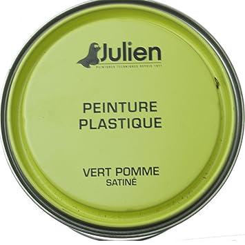 Julien Peinture Plastique 05l Vert Pomme Amazonfr Cuisine Maison