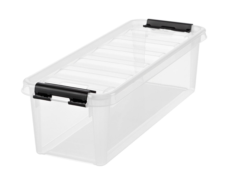 Orthex 3455070Smart Store Classic 4clip Box, PP, Trasparente, 38 x 14 x 11cm (3.5L) ORTIL