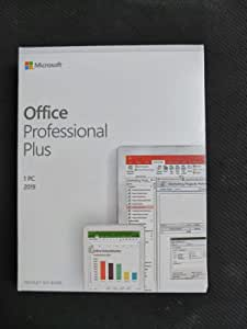 Office 2019 Professional Plus DVD box