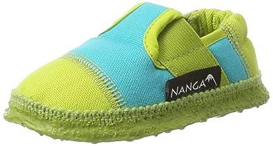 Nanga Unisex-Kinder Klette 06 Hausschuhe, Gelb (Limette), 36 EU