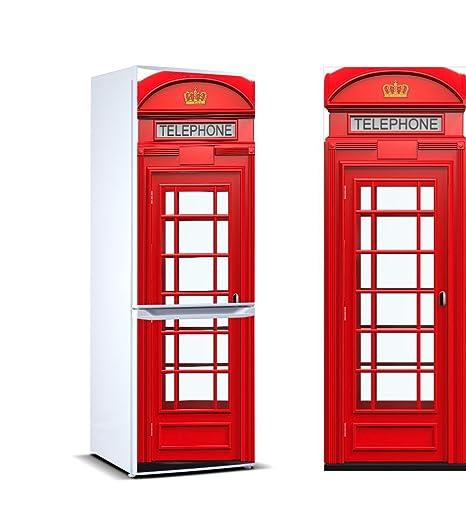 Pegatinas Vinilo para Frigorífico Cabina telefonos Londres ...